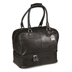 leather double decker bag BL