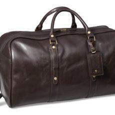 Luxury Leather Weekend Bag