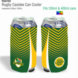 Rugby Casidee Can Cooler
