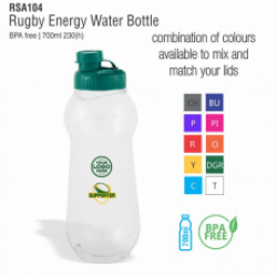 Rugby Energy Water Bottle